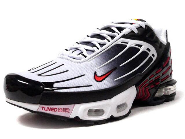 メンズ靴, スニーカー NIKE 3 AIR MAX PLUS III BLACKUNIVERSITY REDWHITE (CD7005-004)