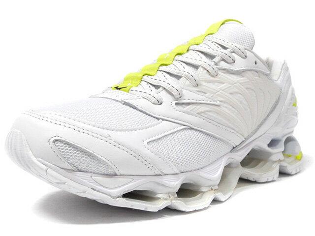 メンズ靴, スニーカー MIZUNO 8 WAVE PROPHECY 8 FUTUR LIMITED EDITION for KAZOKU WHTN.YELSLV (D1GD194501)