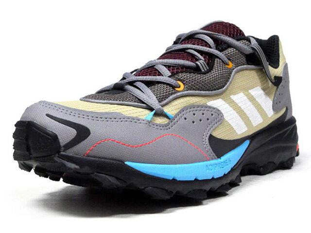 メンズ靴, スニーカー adidas RESPONSE HOVERTURF GARDENING PACK LIMITED EDITION for CONSORTIUM BGEOLVBGDL.GRYN.BLUN.ORGBLK (EF7748)