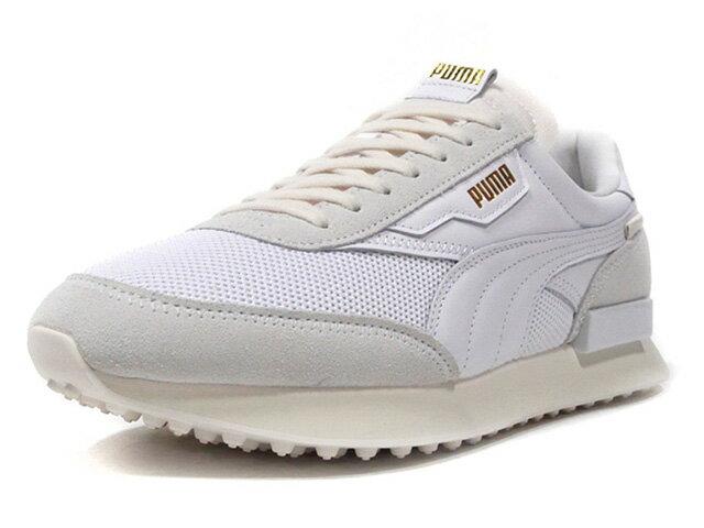 メンズ靴, スニーカー Puma FUTURE RIDER LUX WHTL.GRYGLD (374295-01)