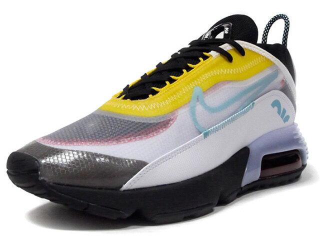 メンズ靴, スニーカー NIKE 2090 AIR MAX 2090 WHITEBLEACHED AQUABLACKSPEED YELLOWCHILI RED (CT1091-100)