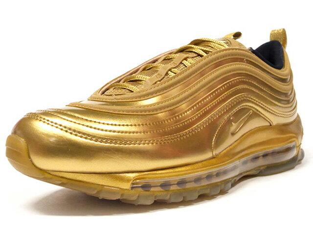 メンズ靴, スニーカー NIKE 97 AIR MAX 97 QS METALIC GOLDMETALIC GOLDBLACKUNIVERCITY RED (CT4556-700)