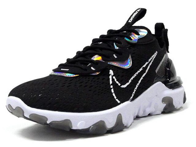 メンズ靴, スニーカー NIKE ESS (WMNS) REACT VISION ESS DMSX BLACKWHITEBLACK (CW0730-001)