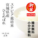 【新米!】特別栽培米 宮城県産 すてびあ栽培米ひとめぼれ令和...