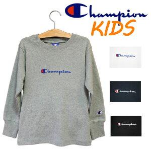 Champion チャンピオン kids キッズ 長袖Tシャツ 子供服 男の子 女の子