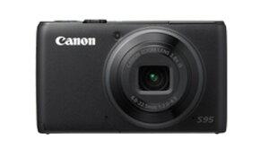 【即納】あす楽対応 [3年保険付]【送料無料】Canon PowerShot S95 1000万画素デジタルカメラ【...