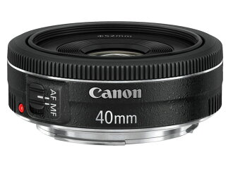 Available: you, the Canon EF40mm F2.8 STM standard single focus pancake lens