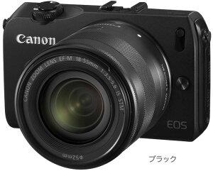 【送料無料】[3年保険付]キヤノン EOS M・EF-M18-55 IS STMレンズキット(LK)『2012年9月中旬発...