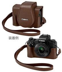 CanonソフトケースCSC-G10『2017年11月下旬発売』PowerShotG1XMarkIII対応速写ケース&前カバー[fs04gm][02P05Nov16]
