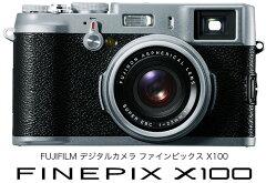 [3年保険付]【送料無料】Fujifilm FinePix X100デジタルカメラ『納期未定予約(2011年3月5日発売...