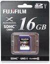 Fujifilm SDHCカード 16GB Class10 UHS-1 SDHCカード『1〜2営業日後の発送』UHS-I規格対応SDカードSDHC-016G-C10U1 [02P05Nov16]
