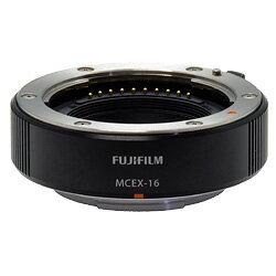 FujifilmマクロエクステンションチューブMCEX-11『2014年12月11日発売予定予約』[カメラボディと交換レンズの間に取り付けてマクロ撮影が可能になるマウントアダプター。][fs04gm][02P13Nov14]