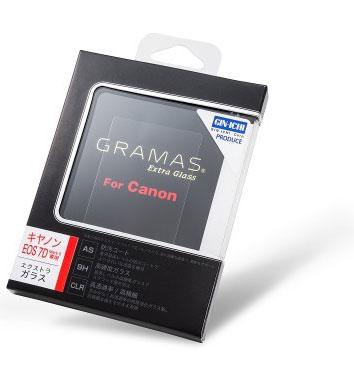 【当店限定!ポイント3倍!UP祭!!】【送料無料】GIN-ICHIxGRAMAS Extra Glass for Canon EOS7D ...