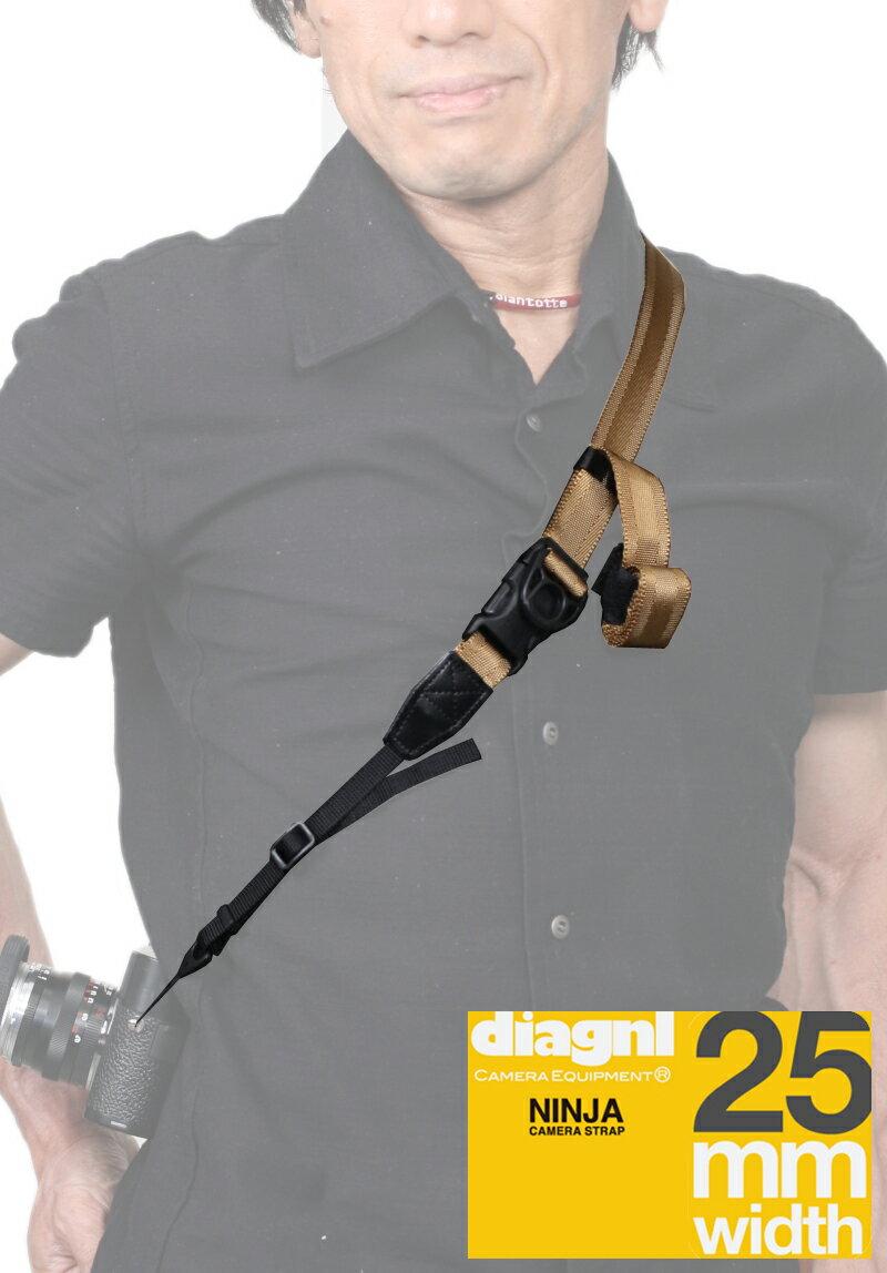 ダイアグナル ニンジャカメラストラップ25mm