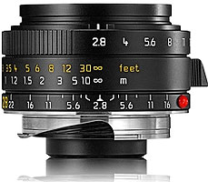 [3年保険付]Leica ELMARIT-M f2.8/28mm ASPH.(6bit)『3~4営業日後の発送』