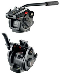 マンフロット プロ スコープ/ビデオ雲台 #501HDV【2.5kgで釣り合うカウンターバランスバネ入り...