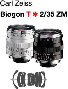 【当店限定!ポイント3倍UP祭!】_[3年保険付]【送料無料】Carl Zeiss Biogon T*F2/35mm ZM-Mou...
