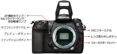 [3年保険付] Fujifilm Finepix S5 Pro Nikon Fマウントデジタル一眼レフカメラボディー