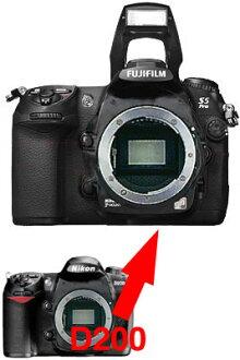 Nikon D200-Fujifilm FinePix S5 Pro digital SLR an SLR body upgrade fs3gm