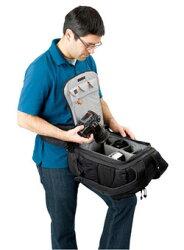 [在庫処分特価]Loweproフリップサイド400AWグリーン『1〜3営業日後の発送』背面から開けるバックパック型カメラバッグ【RCP】[fs04gm][P20Aug16]