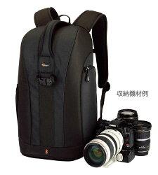 [在庫処分特価]Loweproフリップサイド300ブラック『1〜2営業日後の発送』500mmF4レンズ収納可能なバックパック型カメラバッグ【RCP】[fs04gm][02P26Mar16]