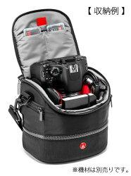 ManfrottoMAショルダーバッグ4#MBMA-SB-4カメラショルダーバッグ『3〜4営業日後の発送』[どこにでも持ち運べるAdvancedコレクション。標準ズームレンズ付き小型一眼レフにおすすめ。前機種:KTDL-L-437]【RCP】[fs04gm][02P27Sep14]