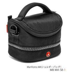 ManfrottoMAショルダーバッグ1#MBMA-SB-1カメラバッグ『3〜4営業日後の発送』[コンパクトカメラやミラーレスを収納可能。前機種:KTDL-L-431]【RCP】[fs04gm][02P21Aug14]
