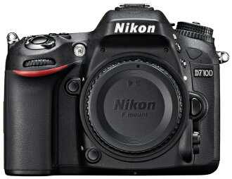 """D7100 Nikon Nikon digital SLR body only """"quick delivery-2 business days after shipping,"""