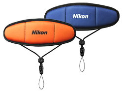NikonフロートストラップFTST1(ブルー/オレンジ