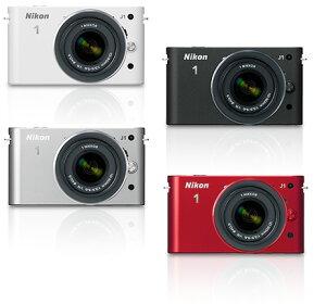 [3年保険付]【送料無料】Nikon 1 J1 ニコンデジタルミラーレス一眼 レンズキット『2011年10月20...