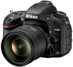 【当店限定ポイント3倍!】[3年保険付]【送料無料】【RCP】Nikon D600 24-85 VR レンズキット『...