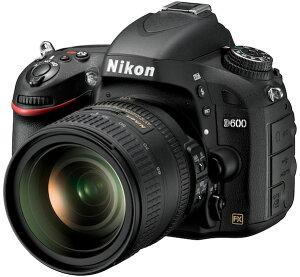 【当店限定ポイント2倍UP祭!】[3年保険付]【送料無料】Nikon D600 24-85 VR レンズキット『即...