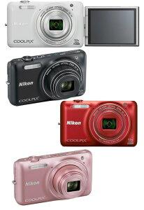 【当店限定!ポイント2倍UP祭!!】【送料無料】[3年保険付]Nikon COOLPIX S6600 デジタルカメラ...