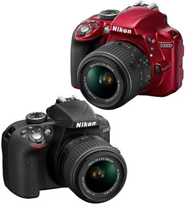 【当店限定!ポイント3倍UP祭!!】[3年保険付]【送料無料】Nikon D3300 ニコンデジタル一眼レフ ...