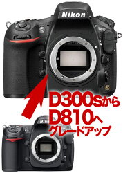 NikonD810ニコン←D300sデジタル一眼レフボディーグレードアップ【RCP】[fs04gm][02P27Jun14]