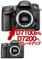 NikonD7200ニコン←D7100デジタル一眼レフボディーグレードアップ