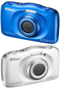 Nikon COOLPIX S33 デジタルカメラ『即納可能』【あす楽対応】子どもがカメラに興味を持ちはじめたら! 親子で一緒に楽しめるタフな10m防水カメラ【smtb-TK】【RCP】[fs04gm][02P30May15]