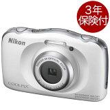 [3年保険付] Nikon COOLPIX W150 ホワイト 耐衝撃・防塵防水デジタルカメラ [02P05Nov16]