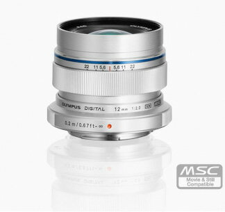 "OLYMPUS M.ZUIKO DIGITAL ED12mm F2.0 focus wide angle lens just ""1 ~ 2 business days after shipping, large diameter"