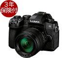 [3年保険付] Panasonic LUMIX G99 レン