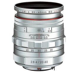 ペンタックスHDPENTAX-DA20-40mmF2.8-4EDLimitedDCWRSilver『即納~3営業日後の発送』シルバー色リミテッド標準ズームレンズ[02P01Feb14]【RCP】