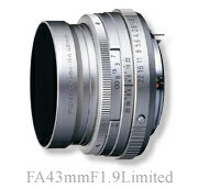 "PENTAX FA43mmF1.9 Limited Silver ""1 ~ 3 business days after shipping, fs3gm"