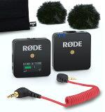 RODE WIRELESS GO (0698813005611) ロードマイクロフォンズ ワイヤレスゴー 超小型ワイアレスマイクロフォンシステム(WIGO) [02P05Nov16]