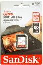 [ゆうパケット発送選択可] サンディスク Ultra UHS-I U1 128GB SDXCカード SDSDUNC-128G-GN6IN 海外向パッケージ『即納〜3営業日後の発送』UHSスピードクラス1 80MB/s Class10 SDカード[02P05Nov16]