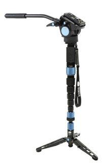 [展覽品特價]1把附帶SIRUI P-326S+VA-5雲台的碳視頻6段1把多功能視頻6段1把[載荷重量8kg]
