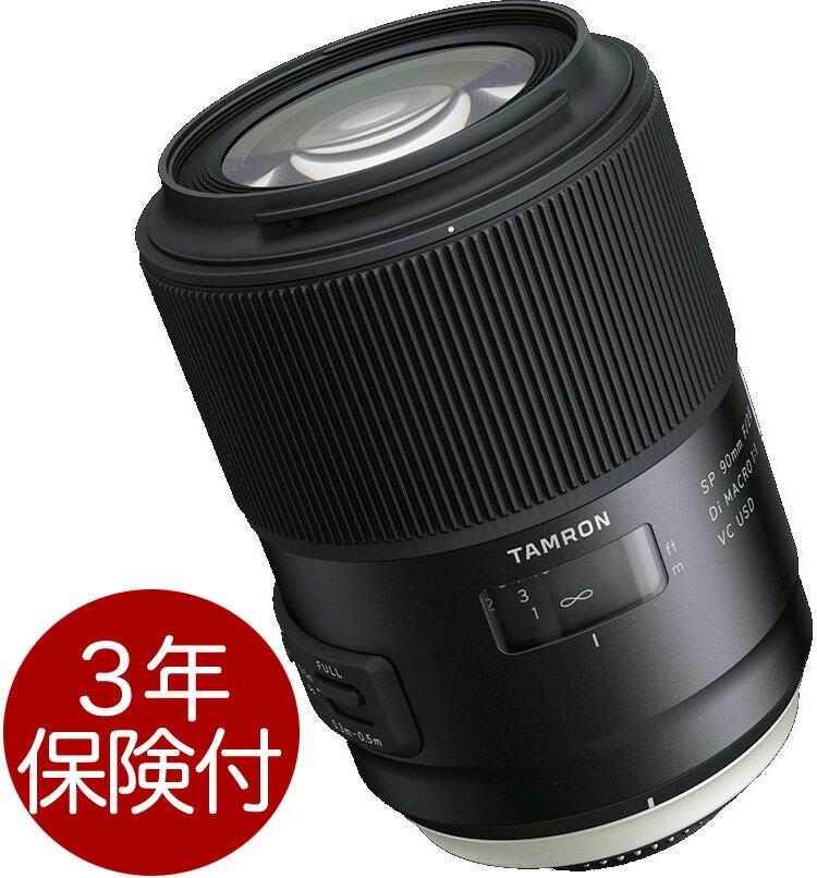 カメラ・ビデオカメラ・光学機器, カメラ用交換レンズ Tamron SP 90mm F2.8 Di MACRO 1:1 VC USD (Model F017) EOS FA02P05Nov16