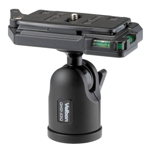 カメラ・ビデオカメラ・光学機器用アクセサリー, 三脚 4kg Velbon QHD-53Q202P05Nov16