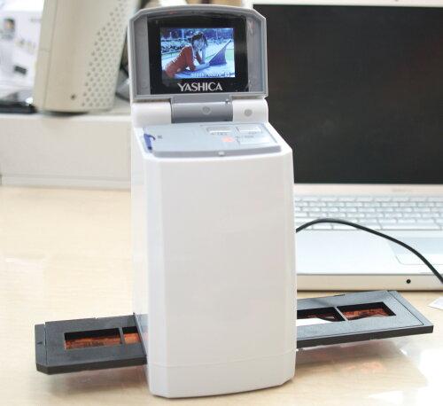 ヤシカ/エグゼモード FS-501 2.4型液晶画面付35mmフィルムスキャナ[fs04gm][02P05Nov16]