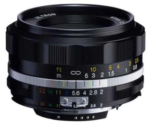 カメラ・ビデオカメラ・光学機器, カメラ用交換レンズ Voigtlander ULTRON 40mm F2 SL IIS Aspherical BlackRim Ai-S Nikon Ai-Ssmtb-TK02P05Nov16