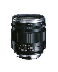 [3年保険付]【送料無料】Voigtlander NOKTON 35mm F1.2 Aspherical VM II ブラック『2011年8...